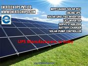 UPS Manufacturers in India-Enertech