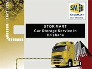 Car Storage Service Brisbane in Australia at Stor Mart