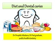 diet and dental caries seminar