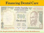 financing dental care seminar