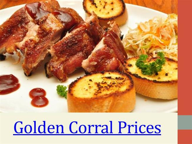 image regarding Golden Corral Printable Coupons known as Golden Corral Menu authorSTREAM