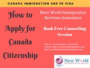 How to apply for Canada Citizenship - Canada PR Visa and Citizenship