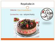 Same Day or midnight Cake Delivery Available in Noida – Royal Cake