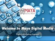 Maya Digital Media Presentation