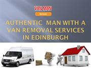 Most Efficient Man with a Van in Edinburgh