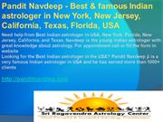 Pandit Navdeep - Get love back by vashikaran specialist in New York