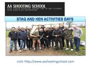 Enjoy Stag and Hen Activities at AA Shooting School ,Dorset, UK