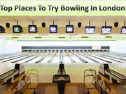 Bowling in London| Are We There Yet Kids