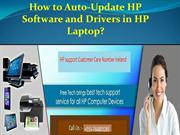 How to Auto-Update HP Software and Drivers in HP Laptop?