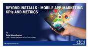 Webinar on Mobile App Marketing KPIs and Metrics