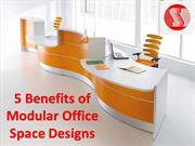 Top Benefits of Modular Office Space Designs