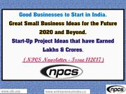 Good Businesses to Start in India.