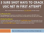 5 Sure Shot Ways to Crack UGC NET in First Attempt