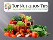 Top Nutrition Tips | Secret Ways To Stay Healthy