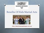 Benefits Of Kids Martial Arts Defence Epping