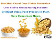 Breakfast Cereal Corn Flakes Production.