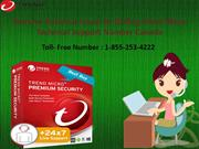 Remove Antivirus Error by dialing Trend Micro Number 1-855-253-4222