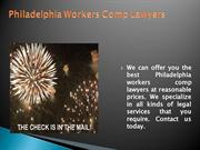 PA Workers' Compensation Lawyers
