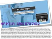 hp printer technical support number usa 1800 870 7412