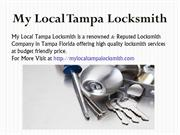 Door to Door 24 Hour Locksmith Services in Tampa