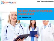 NURSE PRACTITIONERS EMAIL LIST