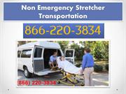 We are provides non emergency Stretcher transportation in the USA
