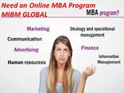 This MBA programs makes you need an Online MBA Program