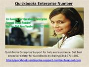 Looking For Quickbooks Enterprise Support Phone Number