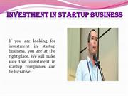 Investment in startup business