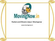 Packers and Movers Jaipur - Movingnow
