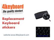 Replacement Keyboard Sticker From 4keyboard