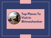 Top Places To Visit In Bhimashankar