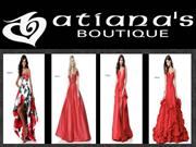 Get your wedding prom dress from Atiana's Boutique