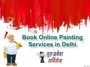 Painting Services in Delhi,Book Online Painting Services in Delhi, Hou
