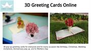 3D Greeting Cards Online