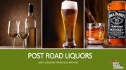 Spirits of the Month from Post Road Liquors | Call (410) 939-0990