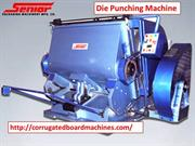 die punching machine- corrugatedboardmachines- corrugated board plant-