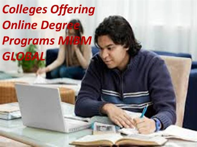 Online Degree Programs >> Colleges Offering Online Degree Programs On Online Mba