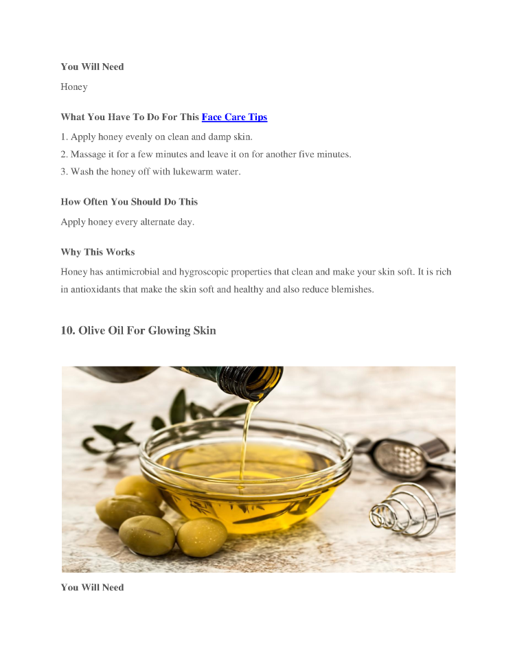 Natural Homemade Beauty Tips For Skin Glow Skin Care And Fairness Authorstream
