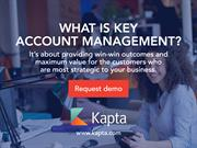 What is Key Account Management