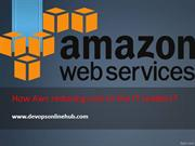 AWS online training in hyderabad with real time scenarios's & projects