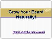 Make Your Beard Healthy with Natural Beard Growth Products