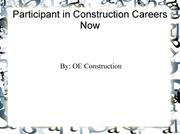 OE Construction Loves Working with the Community