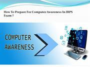 How ToPrepare For Computer Awareness In IBPS Exam?