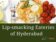 Lip-smacking Eateries of Hyderabad