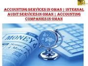 Accounting Services in Oman  | Accounting companies in Oman