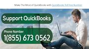 Make The Most of QuickBooks with QuickBooks Toll free Number