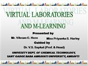 Virtual Chemistry Lab (VIKRAM HORE)