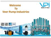 A Wide Range of Submersible Pump at Veer Pump