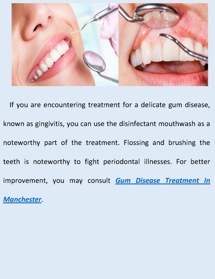 Best Gum Disease Treatment in Manchester |authorSTREAM